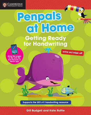 Penpals at Home: Getting Ready for Handwriting by Gill Budgell, Kate Ruttle