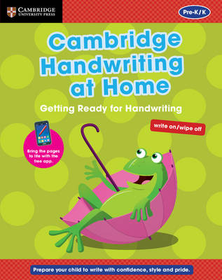 Cambridge Handwriting at Home: Getting Ready for Handwriting by Gill Budgell, Kate Ruttle