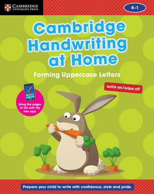 Cambridge Handwriting at Home: Forming Uppercase Letters by Gill Budgell, Kate Ruttle