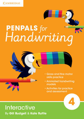 Penpals for Handwriting Year 4 Interactive by Gill Budgell, Kate Ruttle