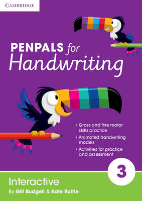 Penpals for Handwriting Year 3 Interactive by Gill Budgell, Kate Ruttle