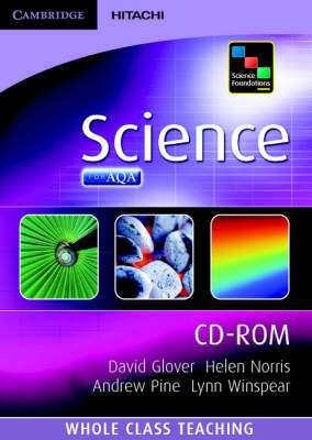 Science Foundations Science Whole Class Teaching CD-ROM by Andrew Pine, Jean Martin, Helen Norris, David Glover