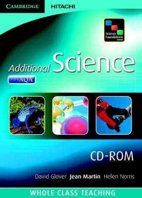 Science Foundations Additional Science Whole Class Teaching CD-ROM by Andrew Pine, Pauline Lowrie, Jean Martin, Helen Norris