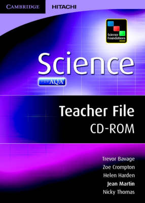 Science Foundations Science Teacher File CD-ROM by Jean Martin, Helen Harden, Sarah Jagger, Zoe Crompton