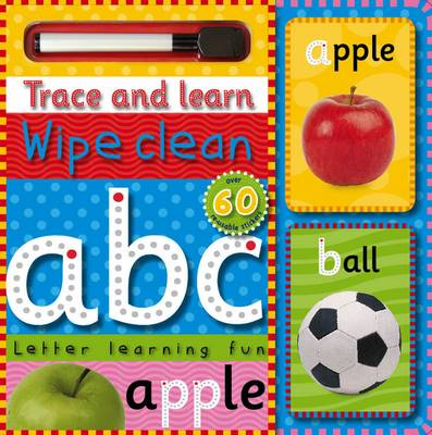 Trace and Learn Wipe Clean ABC by Bob Gordon