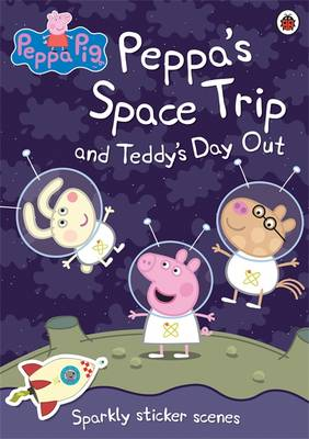 Peppa's Space Trip Sparkly Sticker Scenes by