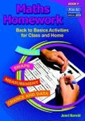 Maths Homework Back to Basics Activities for Class and Home by Jenni Harrold