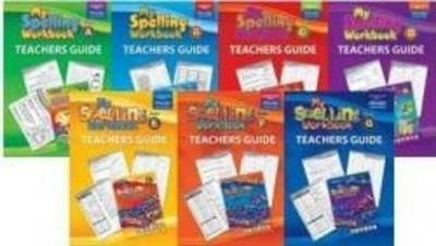 My Spelling Workbook Teachers Guide D by RIC Publications