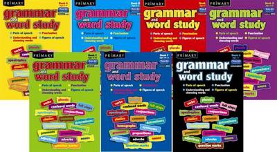 Primary Grammar and Word Study Parts of Speech, Punctuation, Understanding and Choosing Words, Figures of Speech by R.I.C.Publications