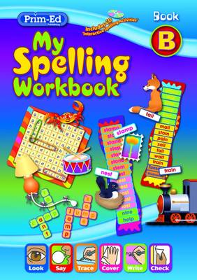 My Spelling Workbook B 5 Pack by RIC Publications