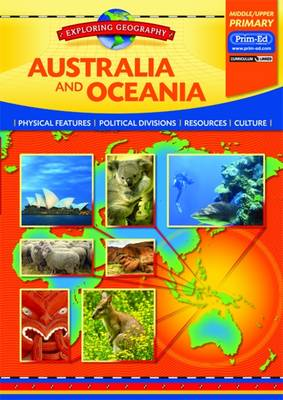 Australia and Oceana Physical Features - Political Divisions - Resources - Culture by Evan-Moor Educational Publishers