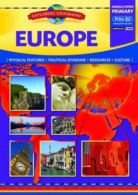 Europe Physical Features - Political Divisions - Resources - Culture by Evan-Moor Educational Publishers