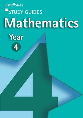 Rising Stars Study Guides Maths Year 4 by