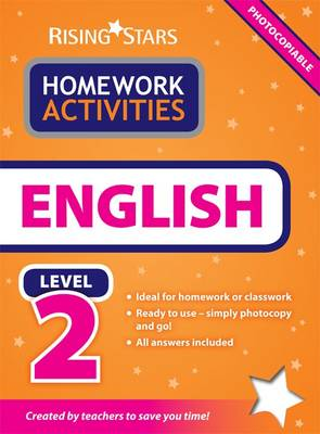 RS Homework Activites English Level 2 by