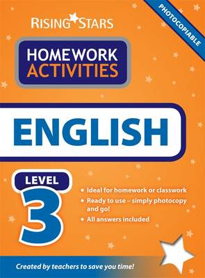 RS Homework Activites English Level 3 by