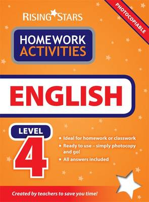 RS Homework Activites English Level 4 by