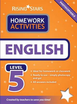 RS Homework Activites English Level 5 by