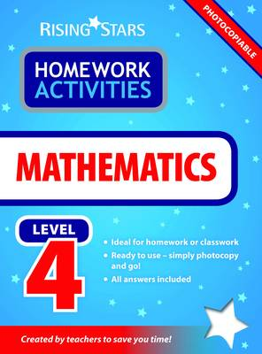 RS Homework Activites Mathematics Level 4 by