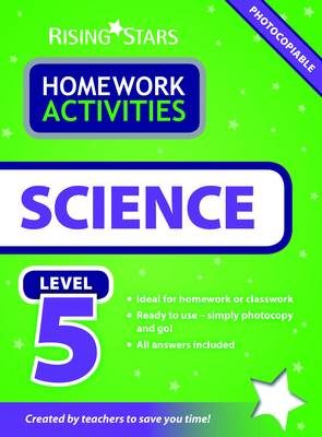 RS Homework Activites Science Level 5 by