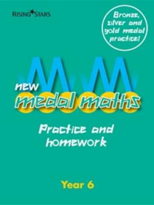 New Medal Maths Practice and Homework Year 6 by