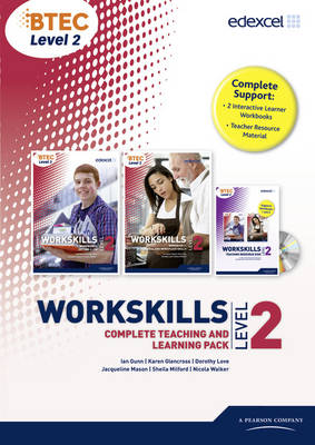 WorkSkills L2 Complete Teaching and Learning Pack by Ian Gunn, Karen Glencross, Dorothy Love, Jacqueline Mason