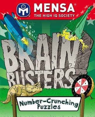 MENSA Brain Busters - Number Crunching Puzzles by Harold Gale, Carolyn Skitt