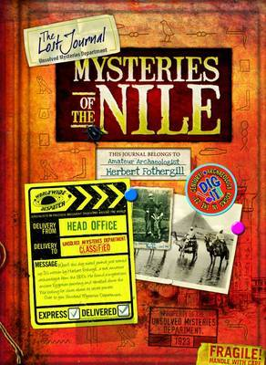 Mysteries of the Nile The Lost Journal by Philip Steele
