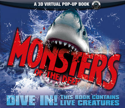 Monsters of the Deep An Augmented Reality Book by Nicola Davies
