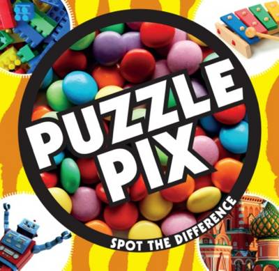 Puzzle Pix Can You Spot the Difference? by Carlton Books