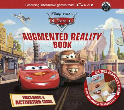 Disney Cars Augmented Reality Book by Ellie O'Ryan