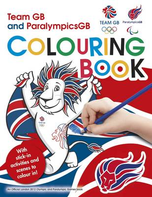 L2012 Team GB Sticker Colouring Book by