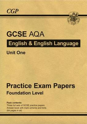 GCSE English AQA Practice Papers - Foundation by CGP Books