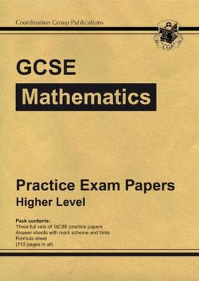 GCSE Maths Linear Practice Papers - Higher by CGP Books