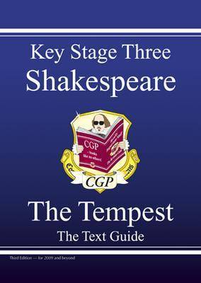 KS3 English Shakespeare Text Guide - The Tempest by CGP Books
