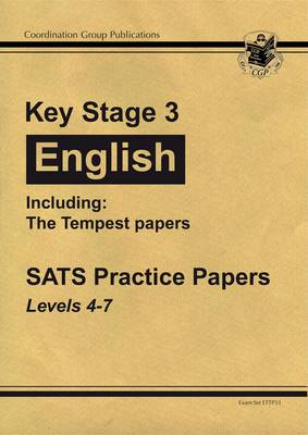 KS3 English Practice Papers Including The Tempest by CGP Books