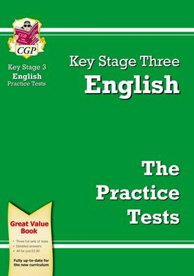 KS3 English Practice Tests by CGP Books