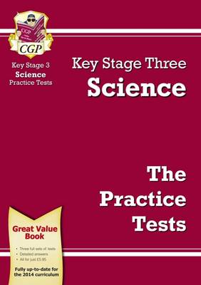 KS3 Science Practice Tests by CGP Books