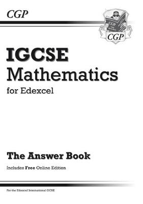 Edexcel Certificate / International GCSE Maths Answers for Workbook (with Online Edition) by CGP Books