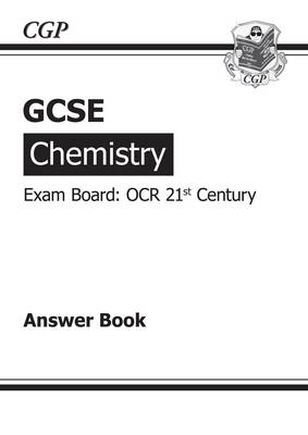 GCSE Chemistry OCR 21st Century Answers (for Workbook) by Richard Parsons