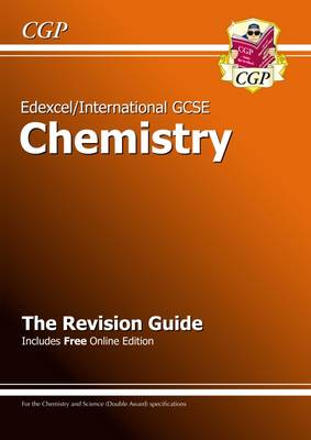 Edexcel Certificate / International GCSE Chemistry Revision Guide with Online Edition (A*-G Course) by CGP Books