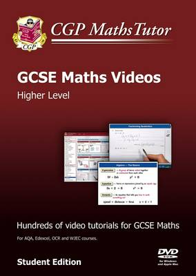 Maths Tutor: GCSE Maths Tutorials, Higher Level - DVD-ROM for PC/Mac by CGP Books