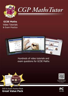 Mathstutor: GCSE DVD-Rom Tutorials and Exam Practice Pack - Higher Level (A*-G Resits) by CGP Books