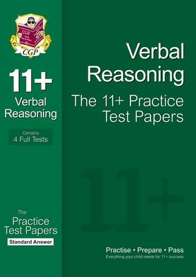 11+ Verbal Reasoning Practice Test Papers: Standard Answers (for Gl & Other Test Providers) by CGP Books