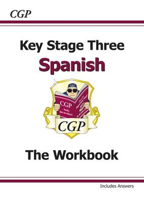 Ks3 Spanish Workbook with Answers by CGP Books
