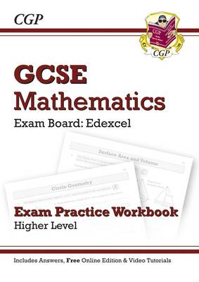 GCSE Maths Edexcel Exam Practice Workbook with Answers & Online Edition: Higher (A*-G Resits) by CGP Books