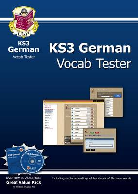 KS3 German Interactive Vocab Tester by CGP Books