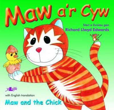 Maw A'r Cyw/Maw and the Chick by Richard Llwyd Edwards