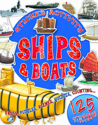 Sticker Activity Ships and Boats by Belinda Gallagher