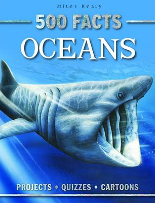 500 Facts Oceans by Belinda Gallagher