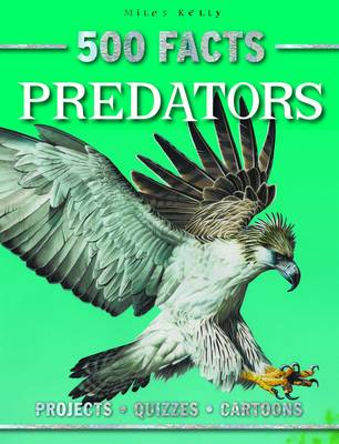 500 Facts Predators by Belinda Gallagher